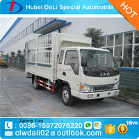 JAC 5ton cargo truck flat truck for sale!4x2 small cargo trucks