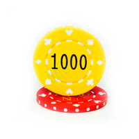 Cheap plastic poker chips professional gambling chips