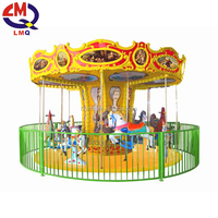 Amusement park rides of new animal carousel for sale