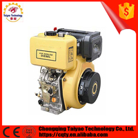 4 stroke air cooled 1 cylinde 13 hp diesel engine for sale