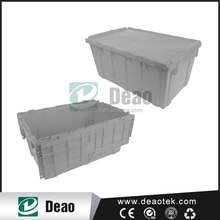 Stackable Vented Plastic Crate/mesh crate/Storage Containers