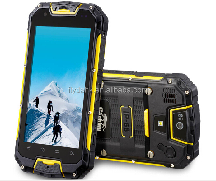 Original Snowpow M8 IP68 Rugged Mobile phone MTK6589 Quad Core With Walkie Talkie Function