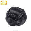 Wholesale best quality remy all kinds of 100% human hair bun