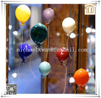Modern handicraft products colorful Murano glass balloons decoration pieces