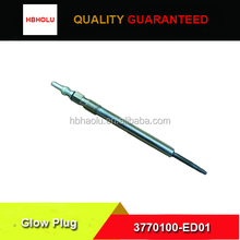 Haval 4D20 glow plug 3770100-ED01 with good quality