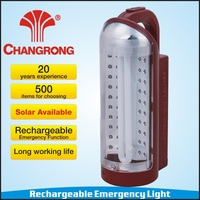 emergency AC DC electric rechargeable fluorescent lantern