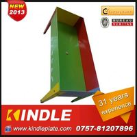 Kindle 2013 New polychrome shallow flower pots with 31 years experience