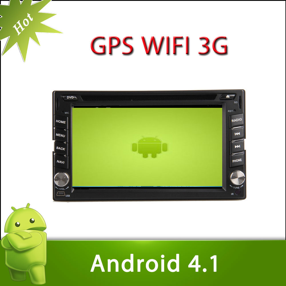 "6.2"" 2 din FRONTIER 2001-2011 android 4.1 car DVD with Radio,GPS,Ipod,Bluetooth,SWC,Wifi,PIP,3D UI"