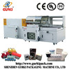 automatic vertical L bar sealer and shrink tunnel machine(CE)from Shenzhen manufactuer