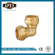 APEX Reducing Elbow Brass Compression Fittings