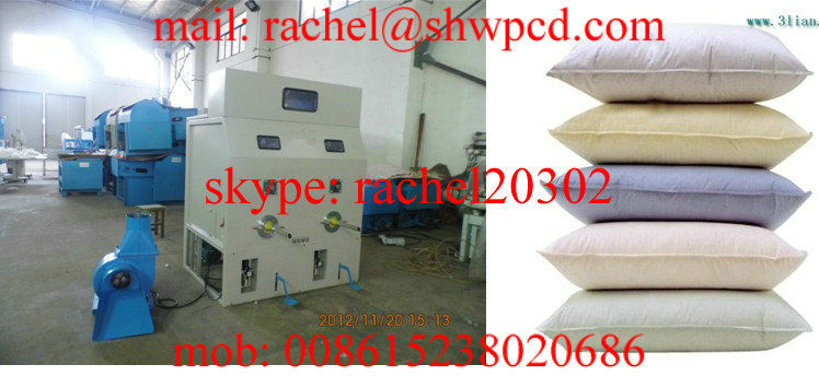 travel pillow filling machine/ plastic granule pillow filling machine