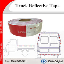 Tractor and Trailer Reflective Tape, Red/White 48mmX45.72M