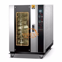 2016 New portable used hot air convection 4 trays electric oven with steam and proofer