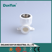 Wall plated PPR water pipe fitting