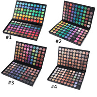 High Quality Multi Color Makeup Eyeshadow 120 colors Shimmer/Matte Color Eyeshadow Palette Private Label