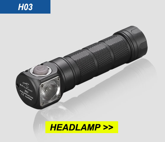H03 rechargeable waterproof high power 6000 lumen camping led headlight headlamp predator light