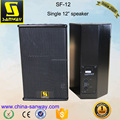 SF-12 Single 12 Inch Powerful Portable Amplifier Speakers
