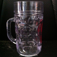 800ml large capacity promotional plastic beer stein