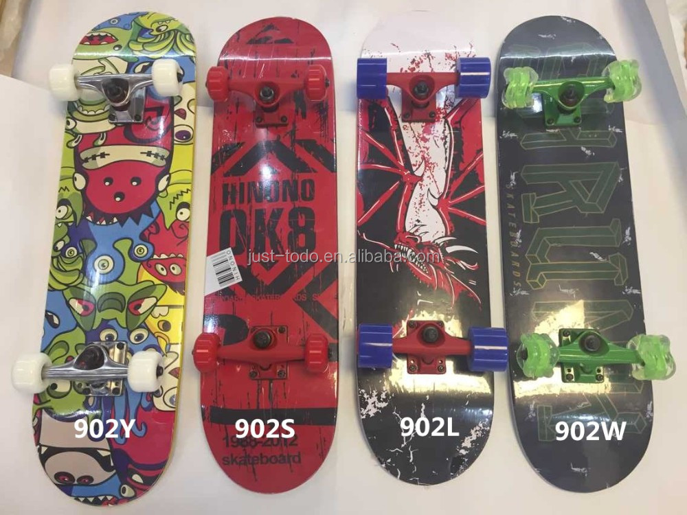 High quality Solid Colour Plastic Skateboard Mini Cruiser Skate Board