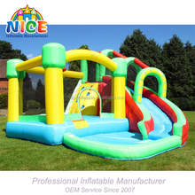 inflatable bouncy castle inflatable bouncy castle with water slide