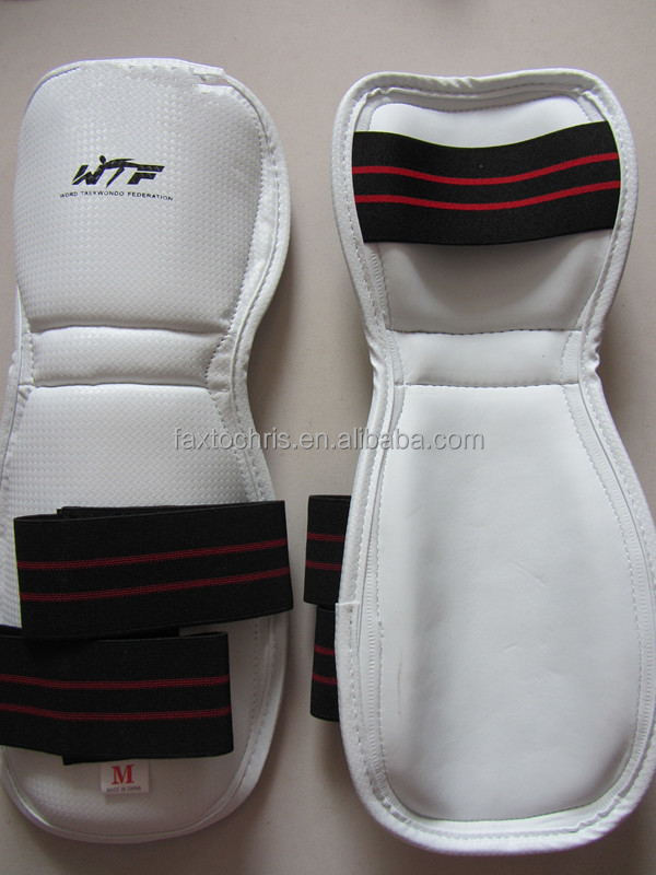 Martial arts taekwondo forearm guard with elbow