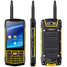 N2 Rugged Cell Phone Russian keyboard 3.5 Inch IP68 Waterproof MTK6580 Quad Core 3G Walkie Talkie NFC Smart Mobile Phone