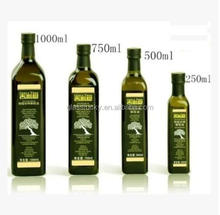 Empty bottle for olive oil and coconut oil bottle manufacture olive oil bottle made in china