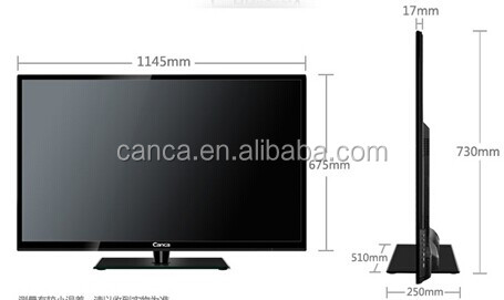 50 inch led TV 1080P (Full-HD) Display Format all in one tv