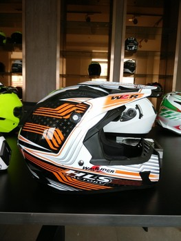 2015 New designed full face helmet with beautiful color---ECE/DOT Approved