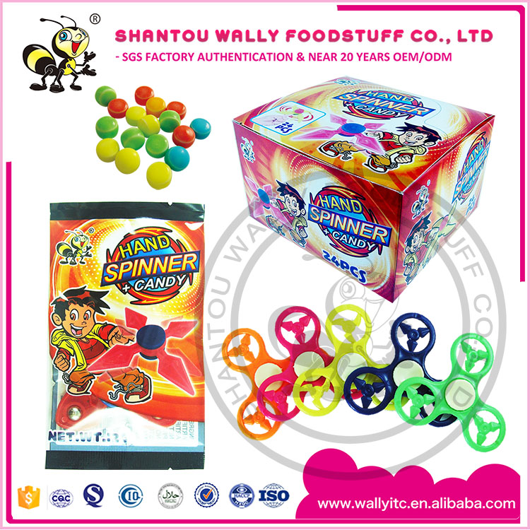FASHION FINGER TIP SPINNER TOY CANDY