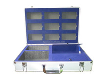 2013 new design CN style Aluminum tool case with tool foam ,size 450*330*150MM