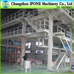 [CHANGZHOU IPONE] spunbonded nonwoven fabric making machine for shopping bag/baby diaper/face mask