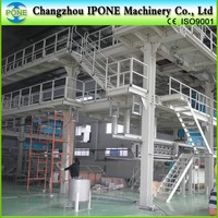 CHANGZHOU IPONE spunbonded nonwoven fabric making machine for shopping bag baby diaper face mask