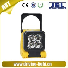New product USB charger magnet light led work light 12w cree led hanging lamps for car maintenance