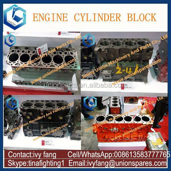 3D84 Diesel Engine Block,3D84 Cylinder Block for Komatsu Excavator PC30
