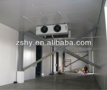 PU Insulation Fish Storage Cold Room / Solar Power Freezer Room