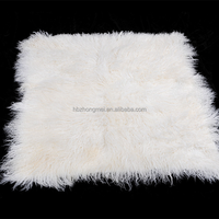Tibetan lamb fur plates fur blanket mongolian sheep fur