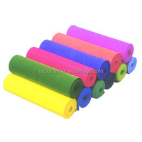 custom color selection colorful natural rubber foam rolls