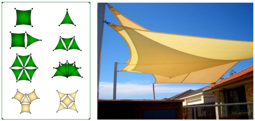 Playground Shade Structure Shade Sail Canopy Awning  sc 1 st  Shanghai Bigcarp Textile Co. Ltd. & Playground Shade Structure Shade Sail Canopy Awning View Shade ...