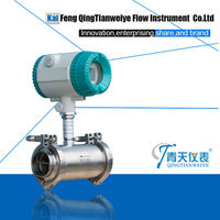 Qingtian oil flow totalizer meter with pulse output
