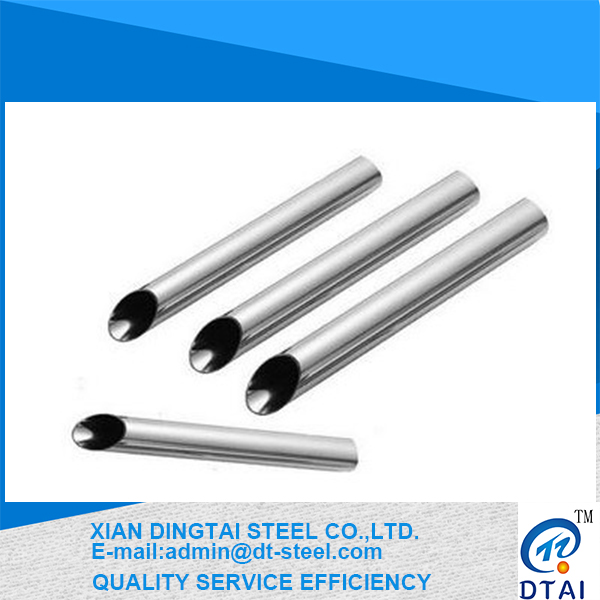 Decorative Stainless Steel Welded Pipe/Tube in stock