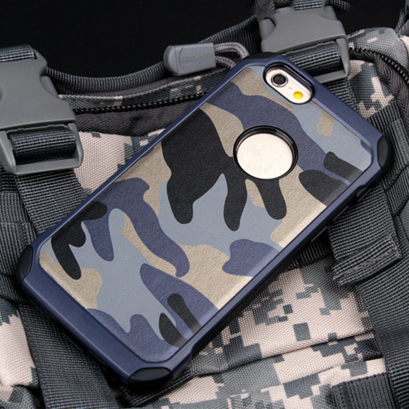 High quality camouflage phone case for iphone 5 5s 6 6s 6 Plus 7 7 plus