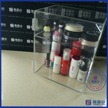 The environmental acrylic production clear lego display case & storage box