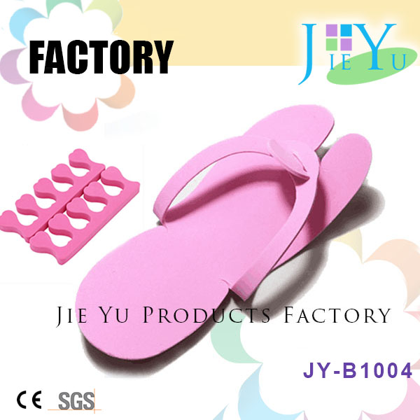 Disposable EVA Slipper And Toe Nail Separator