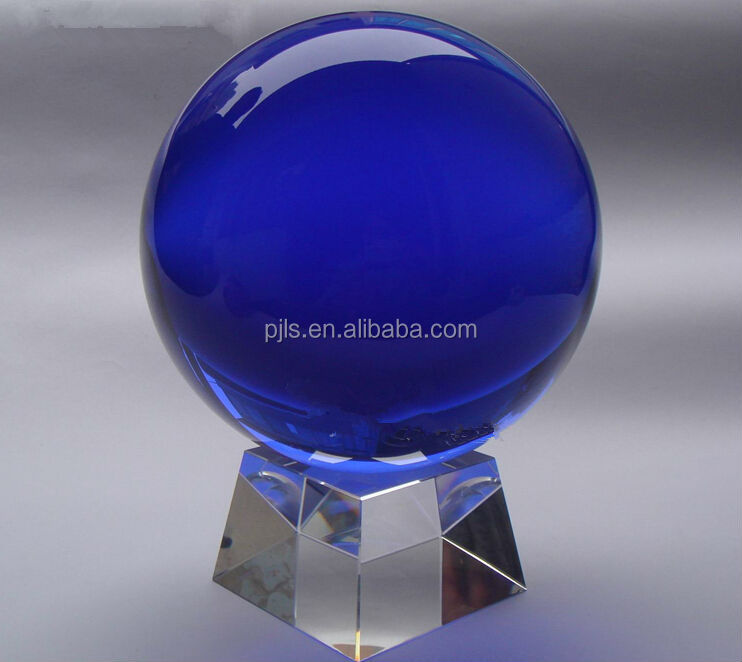 blue sefirot crystal and colors decorative crystal ball wedding decor