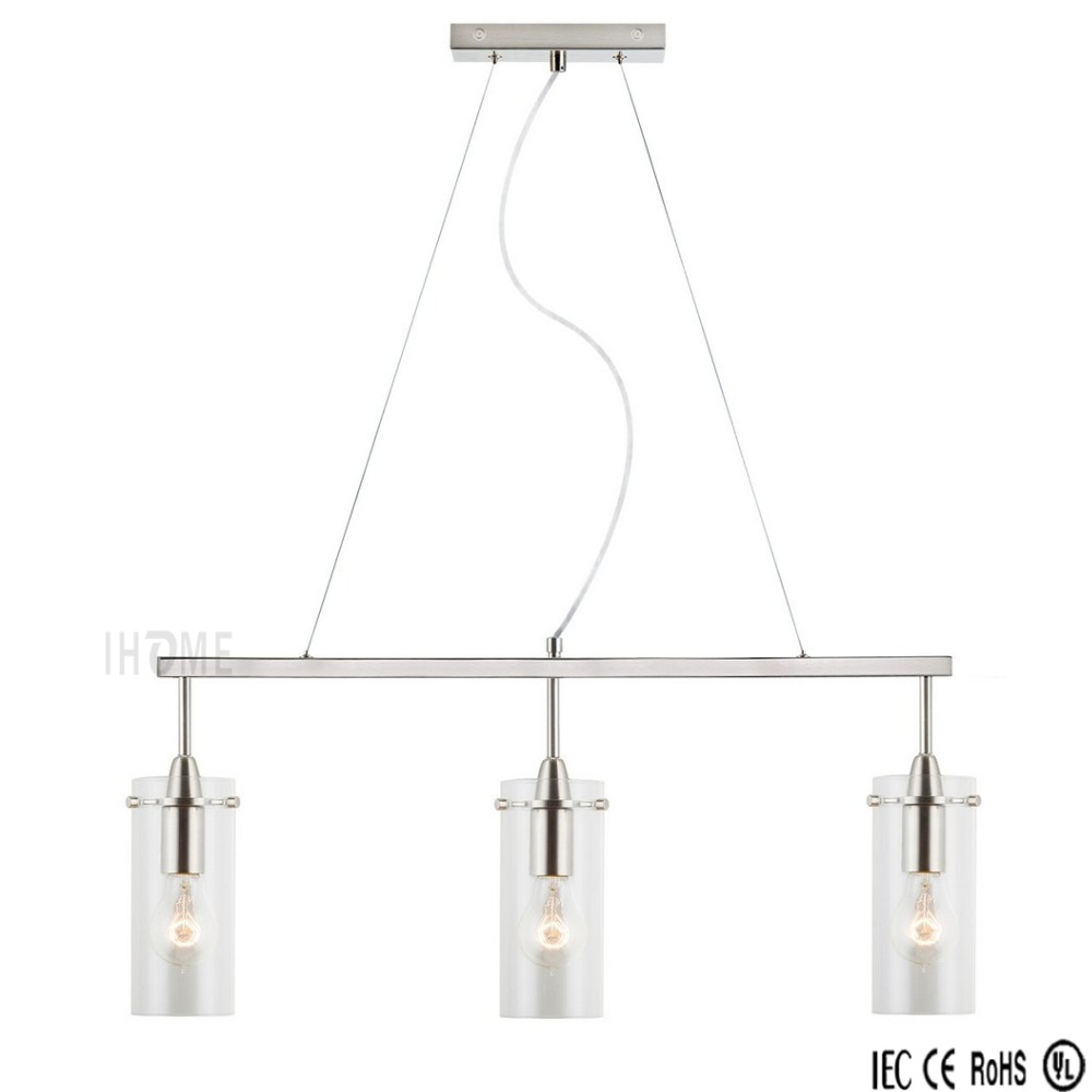 Factory hot selling modern classic glass kitchen island pendant lighting for dining room