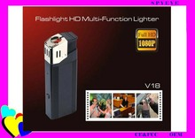 Multifunction HD portable hidden spy cigarette lighter hidden camera