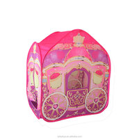 Princess Foldable Playhouse Decorated Pop Up Tent For Girls