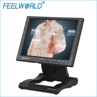 Feelworld 10.4 inch LCD Touchscreen Monitor to medical endoscope camera with hdmi vga input