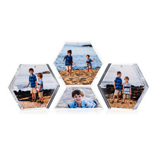 Custom Acrylic Clear Photo Frame Acrylic Frame for Pictures Middle Size